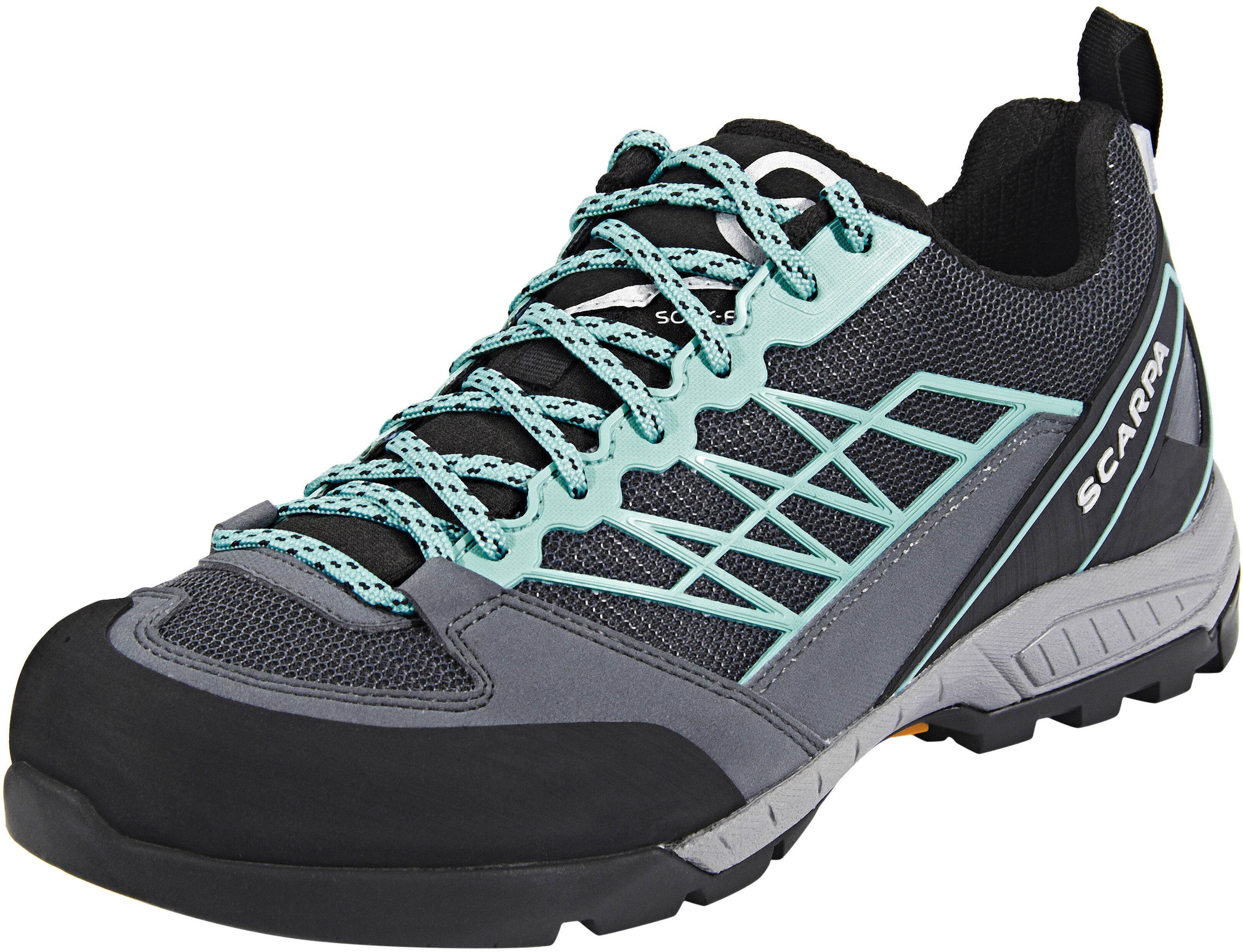 Turquoise And Gray Nike Shoes